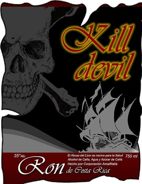 Kill Devil Rum Eitkett