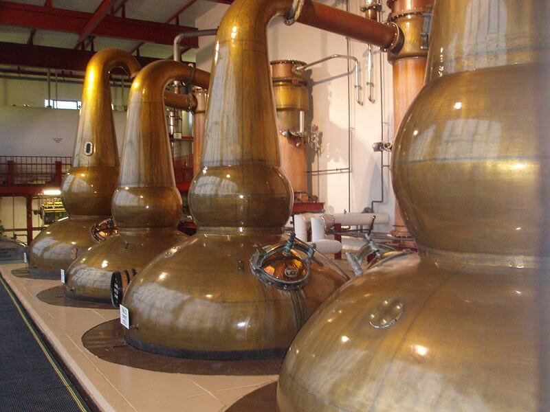 Glendronach pot stills