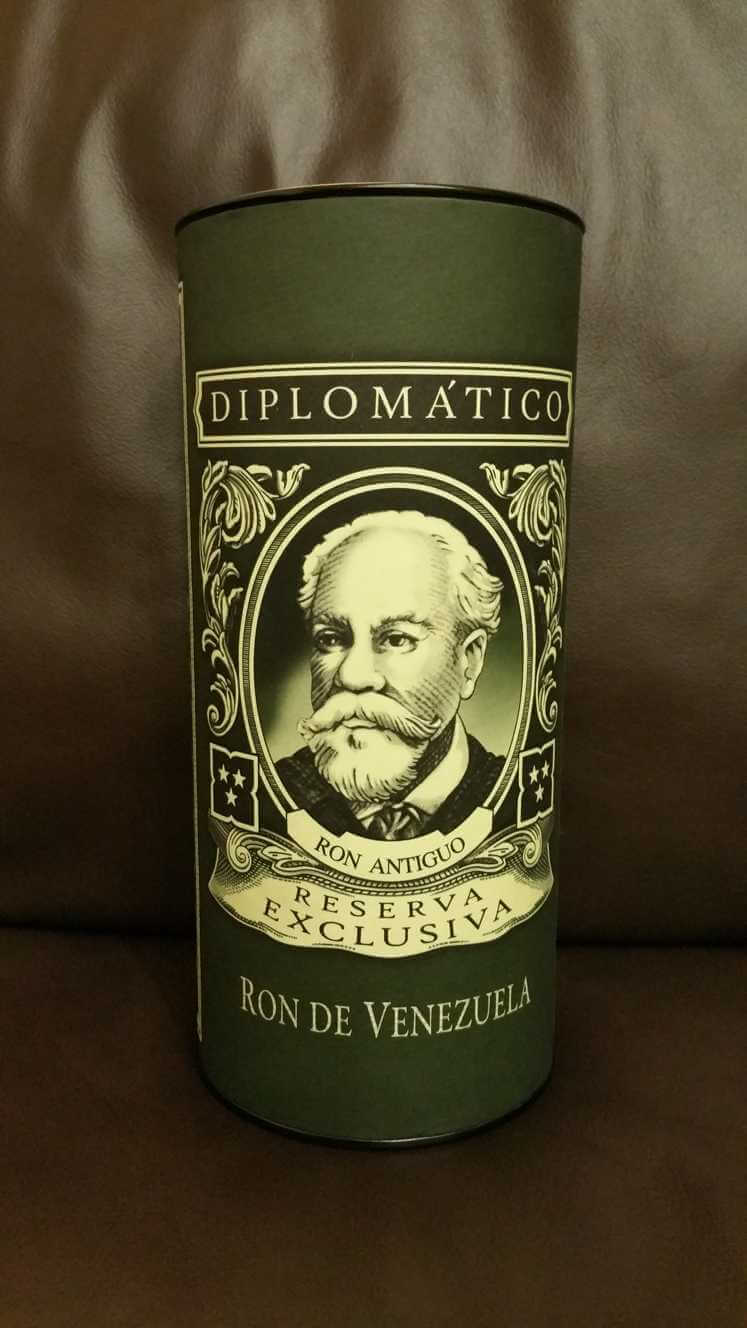 Diplomatico Reserva Exclusiva Verpackung front
