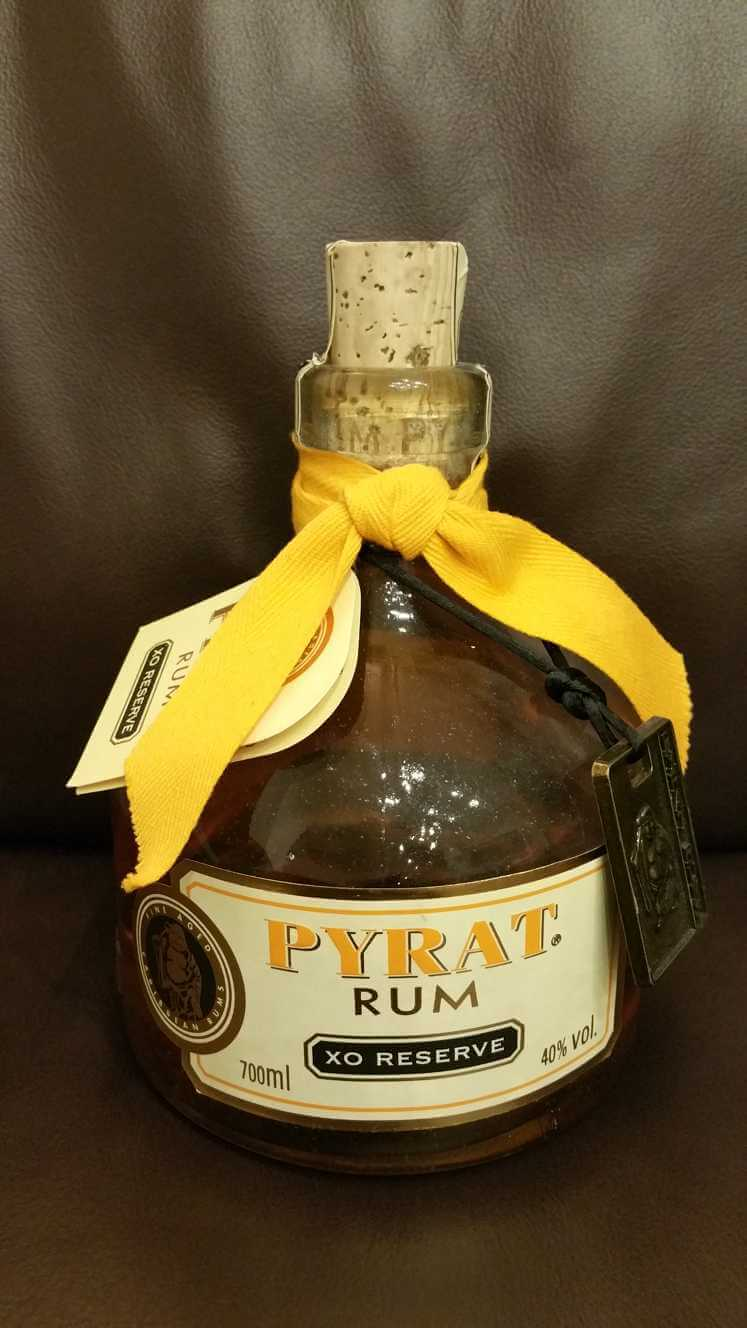 Pyrat XO Reserve Rum front nah
