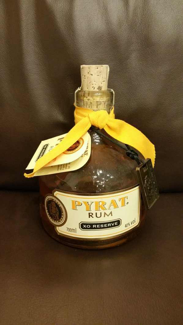 Pyrat XO Reserve Rum front
