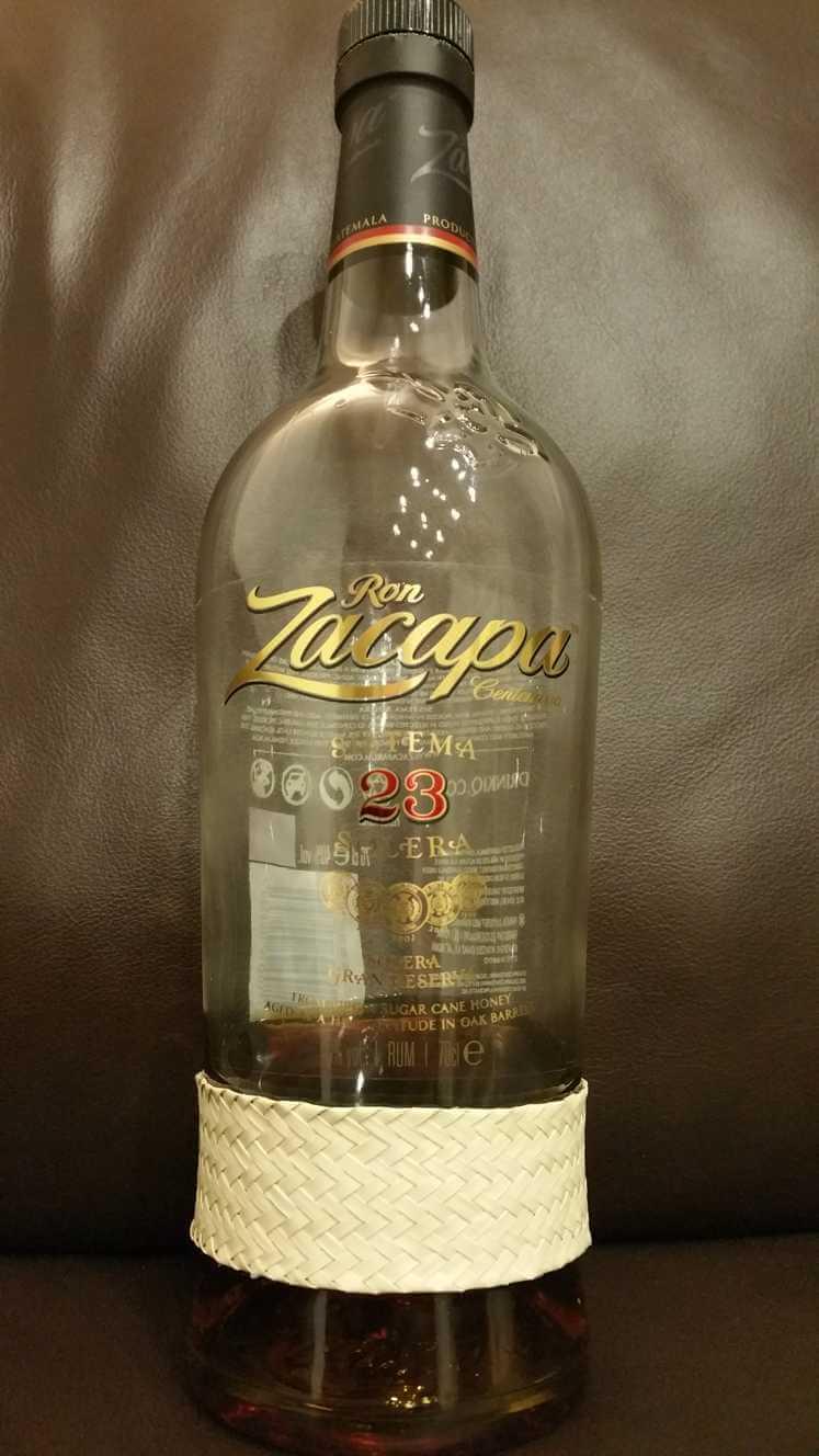 Ron Zacapa 23 Flasche Front unten