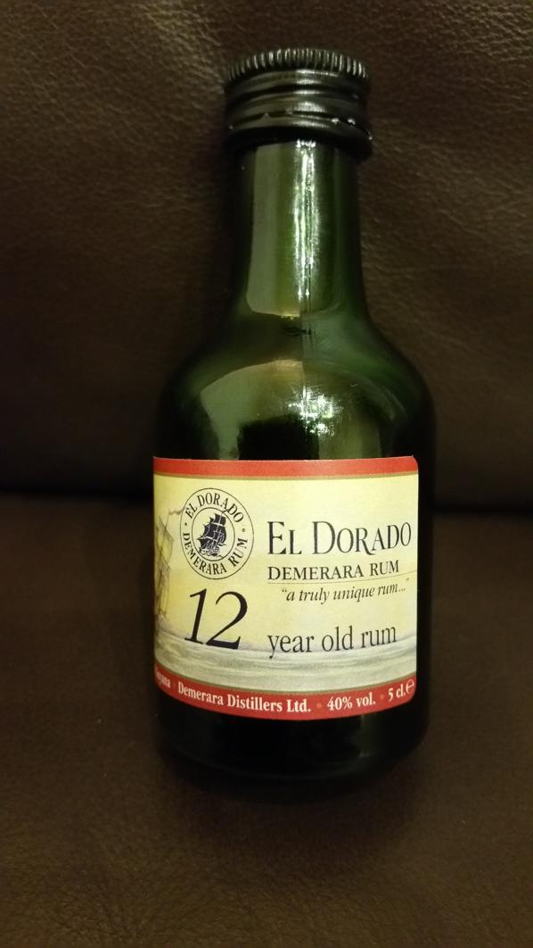 El Dorado 12 Rum Sample front-seite