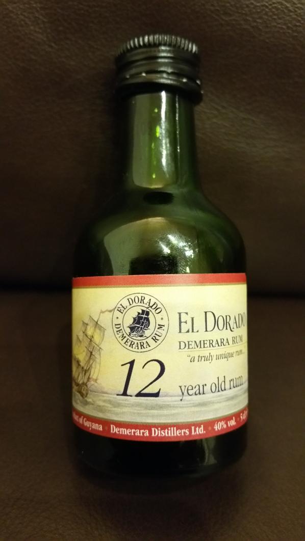 El Dorado 12 Rum Sample front