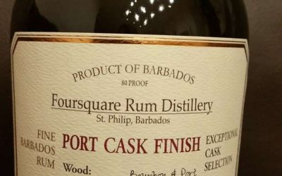 Foursquare Port Cask Finish 9Y Rum – Tasting