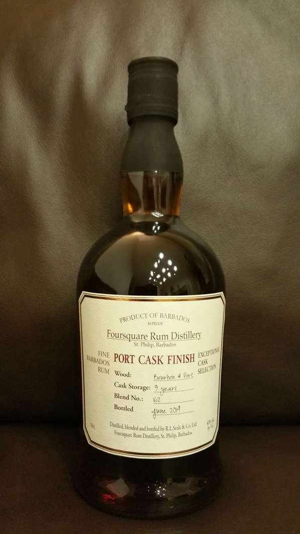 Foursquare Port Cask Finish Rum front