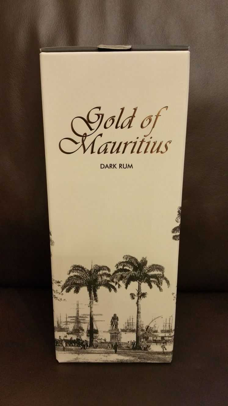 Gold of Mauritius Verpackung Front
