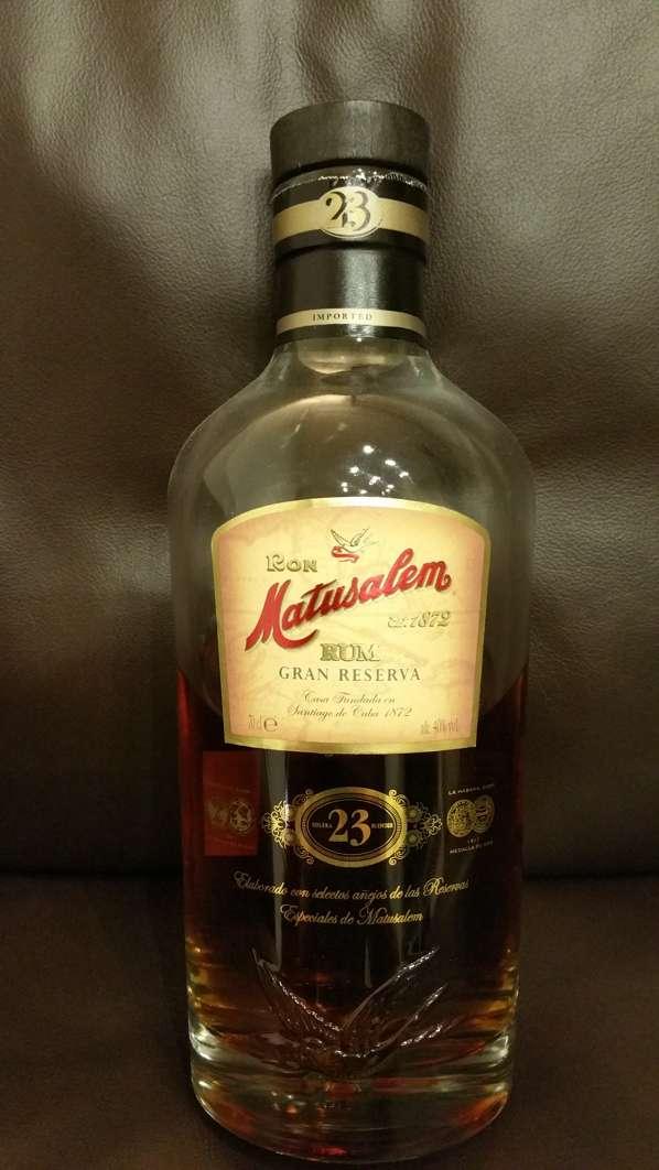 Ron Matusalem Gran Reserva 23 Rum front nah