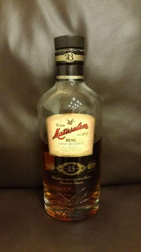 Ron Matusalem Gran Reserva 23 Rum front weit