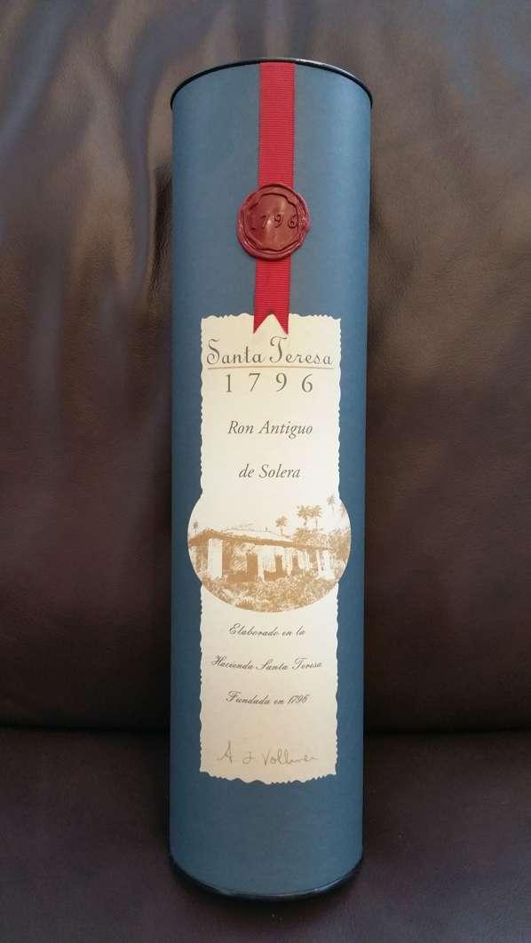 Santa Teresa 1796 Rum Verpackung