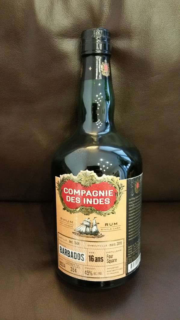 Compagnie des Indes Barbados Foursquare 16Y Single Cask front 2