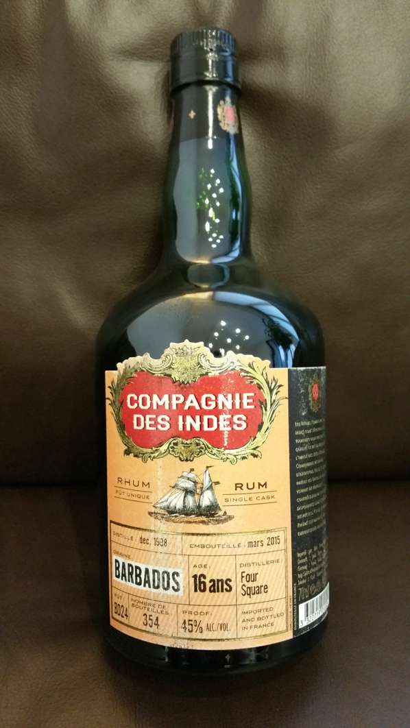 Compagnie des Indes Barbados Foursquare 16Y Single Cask front