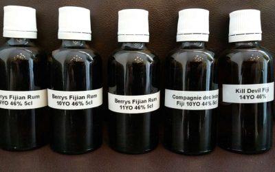 Großer Fidschi (Fiji) Rum Vergleichstest