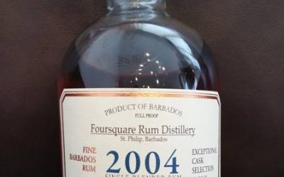 Foursquare 2004 Exceptional Cask Selection Mark 3 – Tasting
