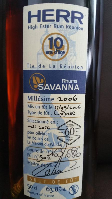 Savanna HERR Label