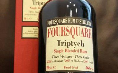 Velier Foursquare Triptych – Tasting