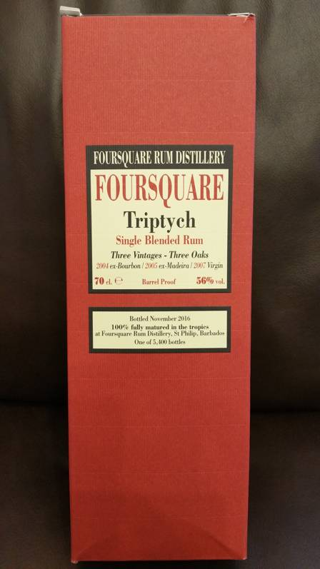 Velier Foursquare Triptych Verpackung