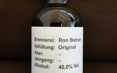 Ron Botran 1893 Solera – Tasting