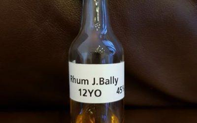 J. Bally Vieux 12 Jahre Agricole – Tasting