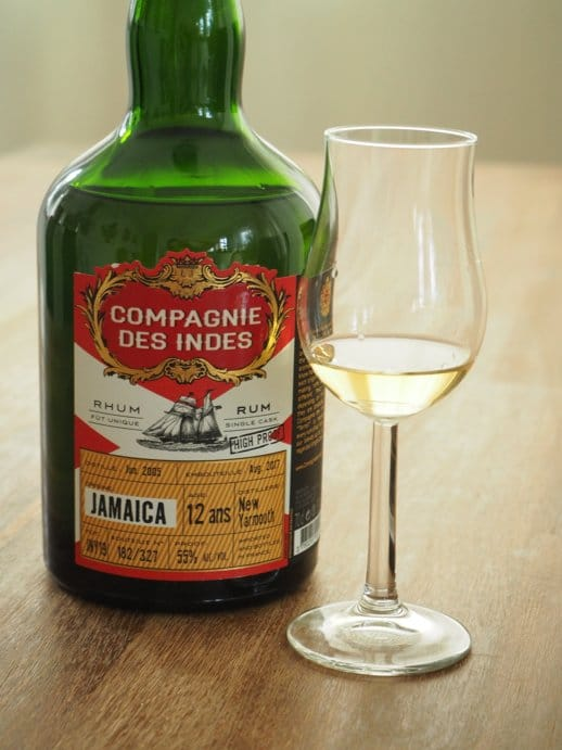Compagnie des Indes New Yarmouth front + Glas nah