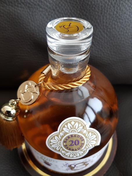 Bonpland Rum Barbados 20 Jahre Deckel