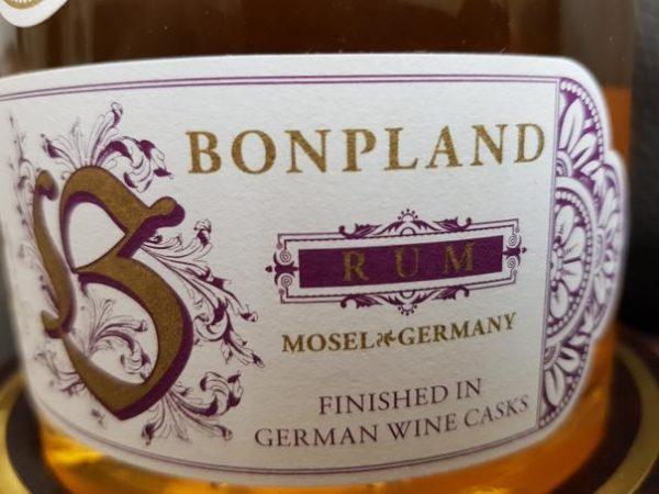 Bonpland Rum Barbados 20 Jahre Label 2