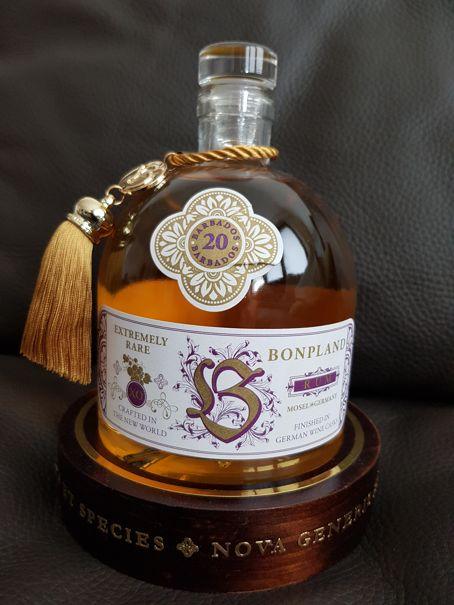 Bonpland Rum Barbados 20 Jahre front 3