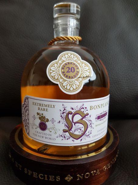 Bonpland Rum Barbados 20 Jahre front