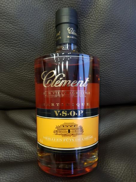 Clément Rhum Vieux Agricole V.S.O.P front full