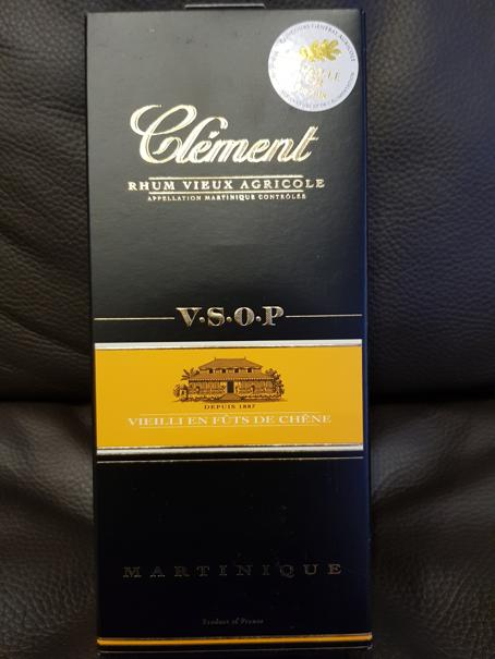 Clément Rhum Vieux Agricole V.S.O.P packung front full