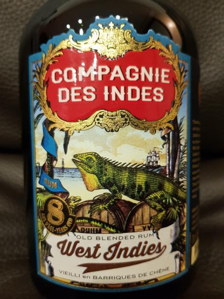Compagnie des Indes West Indies 8 Years Old front nah