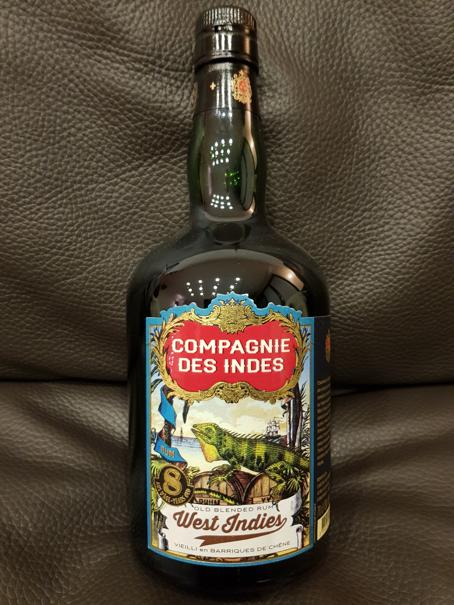 Compagnie des Indes West Indies 8 Years Old front