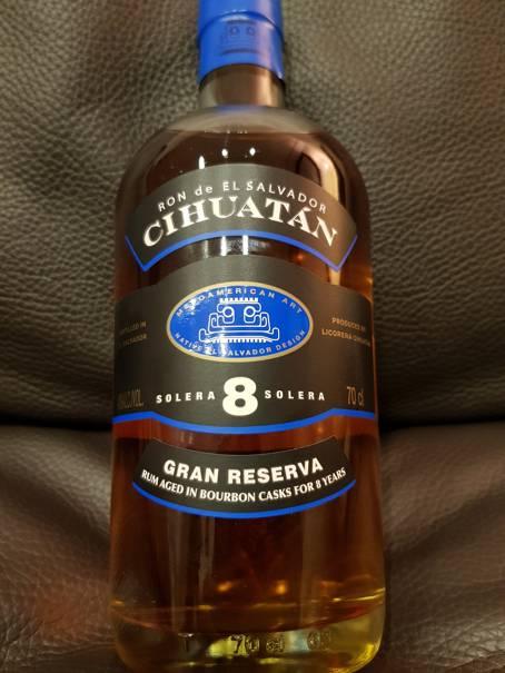 Cihuatan Solera 8 Gran Reserva – Tasting
