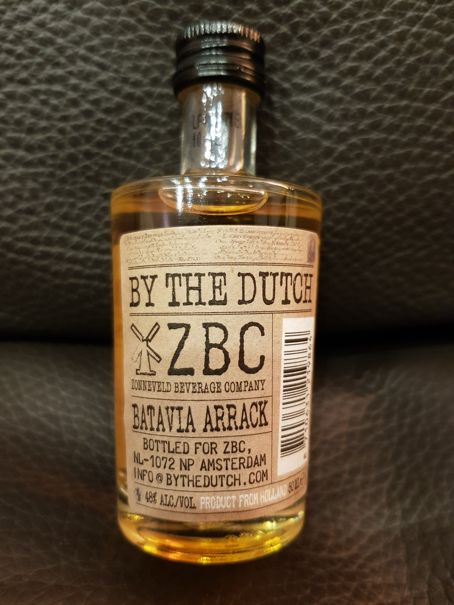 By The Dutch Batavia Arrack back