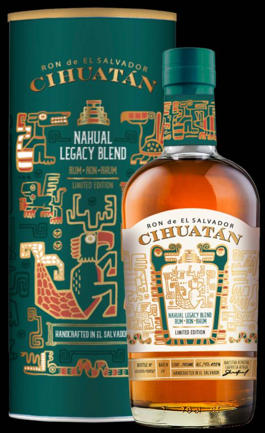 Cihuatan Nahual Legacy Blend front