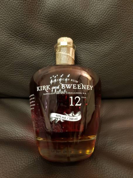 Kirk and Sweeney 12 Year front weit