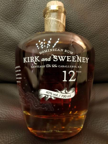 Kirk and Sweeney 12 Year front