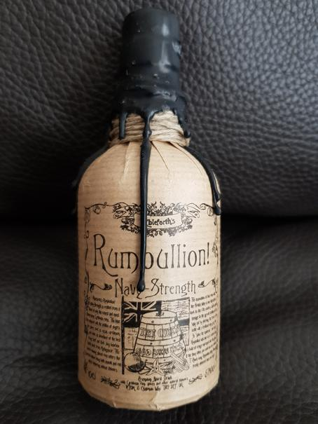 Ableforth's Rumbullion! Navy Strength front