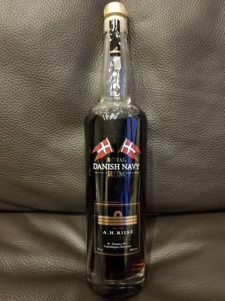 A.H. Riise Royal Danish Navy Rum front