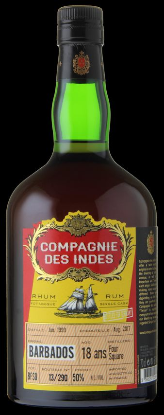 Compagnie des Indes Barbados 18 Jahre Single Cask front opt