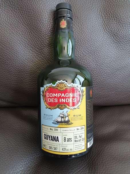 Compagnie des Indes Guyana 8 Jahre front