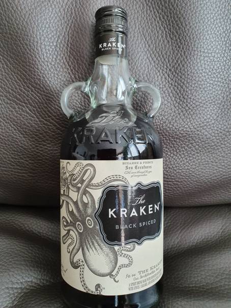 The Kraken Black Spiced Rum front