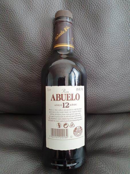 Abuelo Rum 12 Jahre back